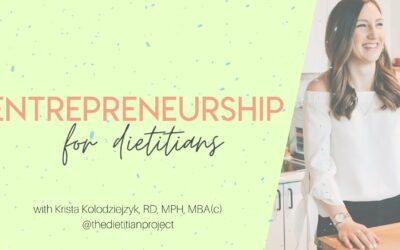 What You Need to Know About Entrepreneurship for Current & Future Dietitians