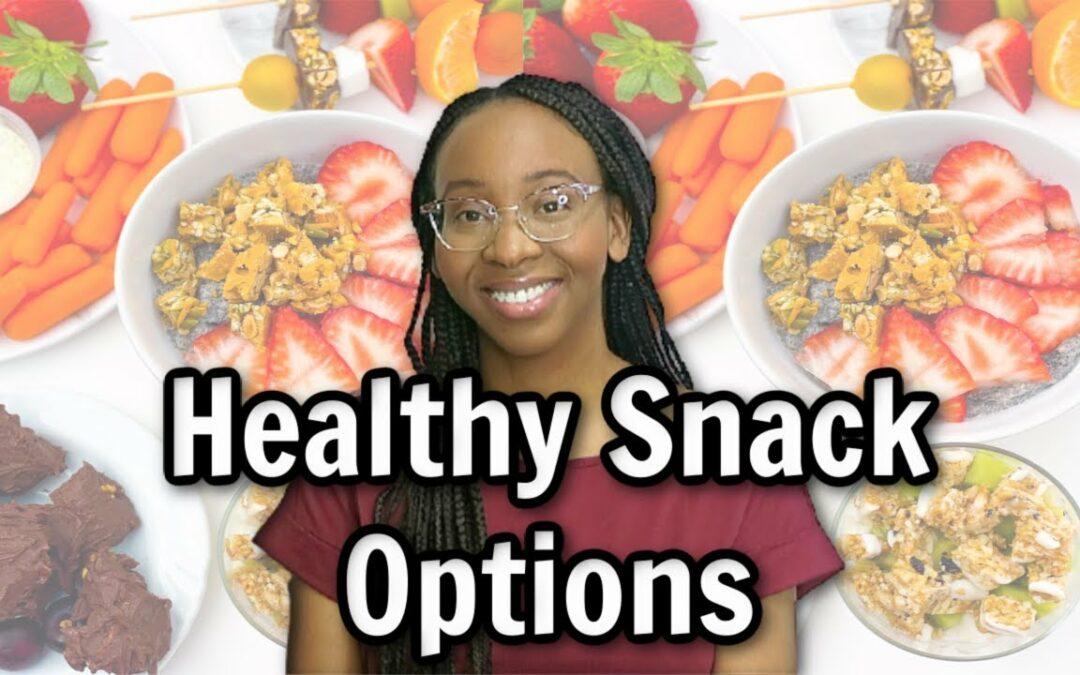 Healthy Blood-Sugar Friendly Snacks